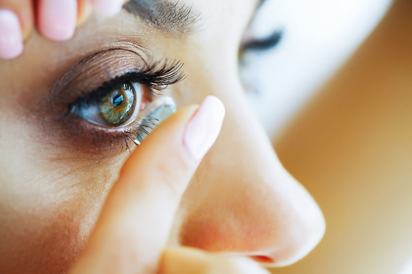 fonctions des lentilles de contact